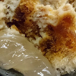 雀おどり總本店 - かき氷のわらび餅