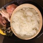 87943264 - 海老出汁細つけ麺