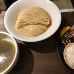 87943266 - 海老出汁細つけ麺