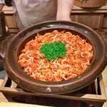 大文字屋 龍田川 - 8.桜海老と筍の土鍋炊きご飯