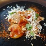87945795 - 地鶏とトマト、燻製リコッタチーズのオレキエッテ