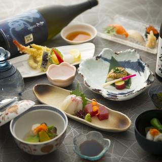 季節の味を愉しむ日本料理