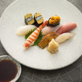 【江戸前寿司】近海で捕れた新鮮魚介を堪能