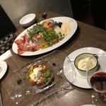 La sana - 絶品モッツァレラチーズとフルーツトマトのカプレーゼ
