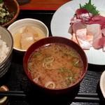 めしの助 - 刺身定食