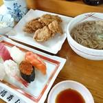 江戸前 丸福寿し - 料理写真:寿司ザンギ定食