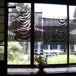 8795637 - 大豆と和風創作料理「田舎」(でんじゃ)8名座敷から景色(お昼)