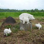 ザ・ババリアン・ペーター・タテシナ - こっちは豚の親子・・・?
