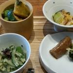 87950908 - 野菜が主役の料理、いろいろ。