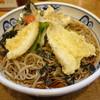 蕎麦屋 慶徳 - 料理写真:きす天おろし冷そば