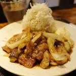 mon - もち豚の生姜焼定食1,000円