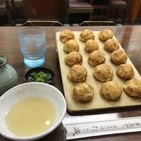 たこ磯-15個700円の玉子焼(2018.6.21)