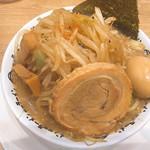 野郎ラーメン - 品川野郎並(850円)