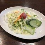 マウントエベレストレストラン - サラダ