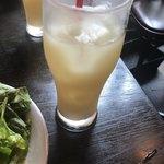 スペインバル Mon-CiRCULO - ランチの飲み物_グレープフルーツジュース 2018/06/21(木)