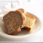 リストランテ アマルフィイ - パン2種