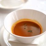 リストランテ アマルフィイ - オマール海老のスープ