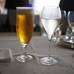 リストランテ アマルフィイ - スプマンテ&生ビール