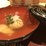 天麩羅 吉祥 - 鯛のしんじょの椀