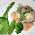 西洋膳所 やすなが - 2018年の「スタンダードコース」天然のマダイ