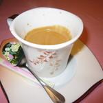 西洋膳所 やすなが - 2018年の「スタンダードコース」コーヒー