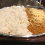 妻田カレー - 料理写真:大盛チーズトッピング