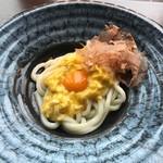 つるとんたん UDON NOODLE Brasserie - 半熟釜玉のうどん(880円)