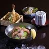 いっかん - 料理写真:【ランチ】冬瓜と海老の冷麺と選べる小ぶり重
