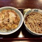 そば処藪そば - 料理写真:カツ丼合わせ膳 950円