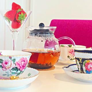 紅茶の種類が豊富☆珍しいフレーバーティ♪