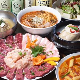 本場韓国人シェフによる【韓国料理】!現地の味を手作りで再現◎