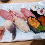 浦島鮨 - 料理写真:上寿し・1,800円