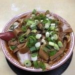 中華そば 麺屋7.5Hz - チャーシュー麺(中)しなちく大盛り