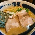 濃厚煮干しそば 麺匠 濱星 - 濃厚鶏白湯らーめん750円