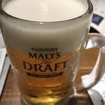 四十八漁場 - まずは生ビール