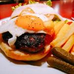 87971457 - 青森産 短角牛のBLTハンバーガー