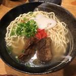 沖縄居酒屋 うちなー市場 - ソーキそば(850円) 2018.6
