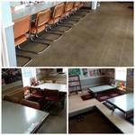 旭川大吉ラーメン - カウンター・テーブル・小上がりがあります。