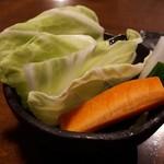 串揚げ 風の音 - 生野菜