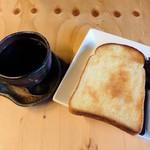 わのわ自家焙煎珈琲 - 料理写真:コーヒー&トースト