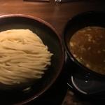 時屋 - 豚つけ(*´ω`*)麺 特盛 350g つけスープ 特盛にしても量は並 大盛と同一とのこと