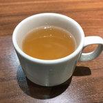 フジオ軒 - ランチのスープ
