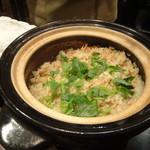禅紫 - 桜エビ土鍋御飯