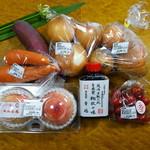 産直市場よってって - 料理写真:お買い物した物
