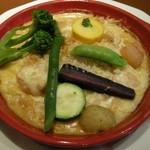8798172 - 「横浜野菜の魚介たっぷりラザニア」