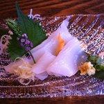 とり松 - 7月旬の白イカ