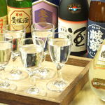 AGRI - 日本酒の飲み比べ