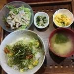 くるみごはん - 料理写真: