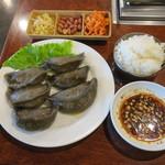 千里香 - 土豆餃子&ライス1