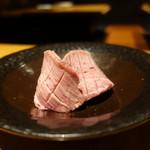 牛肉専門 ぶんご牛肉店 - ☆おおいた豊後牛の極上厚切り塩タン(●^o^●)☆